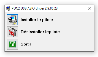 Installation du pilote Yellowtec sous Windows